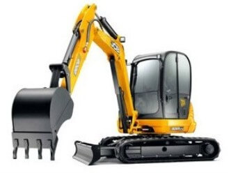 Gloucestershire midi Excavator plant hire