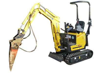 Worcestershire plant hire attchements