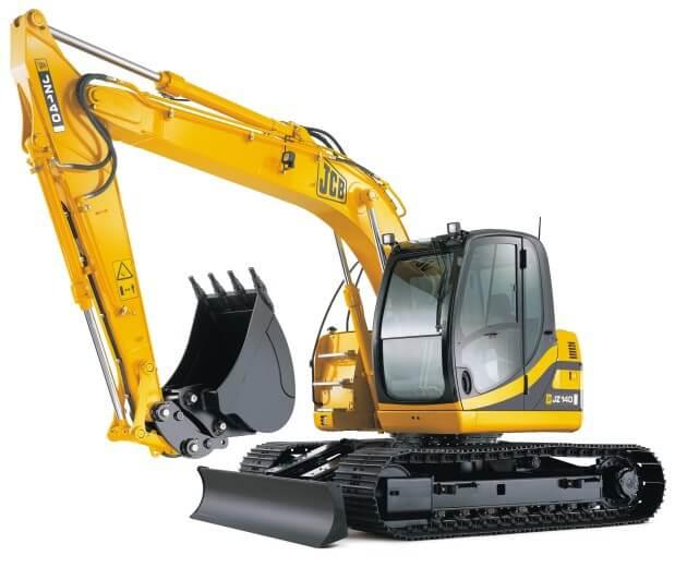 Gloucestershire heavy Excavator plant hire