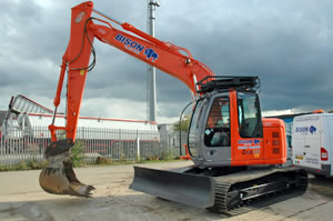 Kidderminster  heavy excavator hire