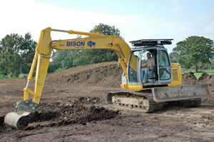 heavy excavator hire yanmar Hungerford