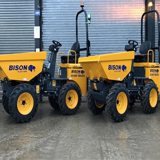 Terex HD1000 Bison Plant Hire Dumpers Hire Swindon Plant Hire