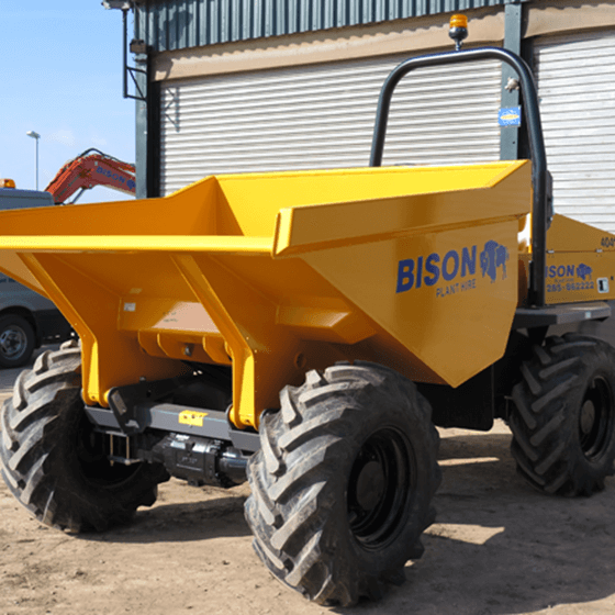 Terex TA6 Bison Plant Hire Dumpers Hire Swindon Plant Hire