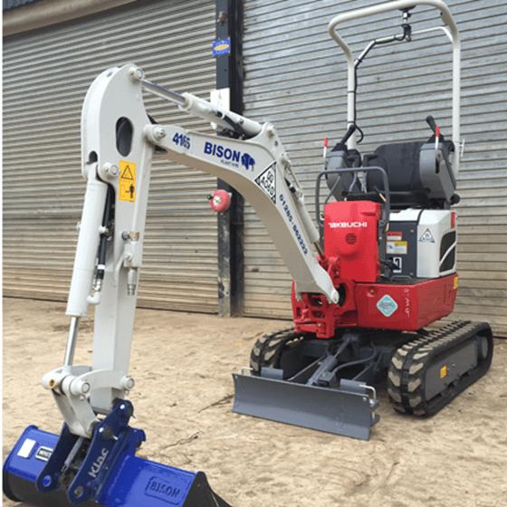 Takeuchi TB210R micro-excavators Bison Plant Hire Swindon Plant Hire