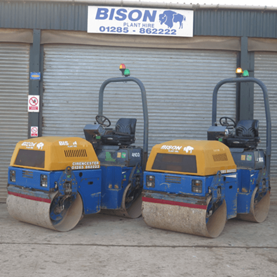 Terex TV1200H-1 Tandem Roller Hire Bison Plant Hire Swindon Plant Hire