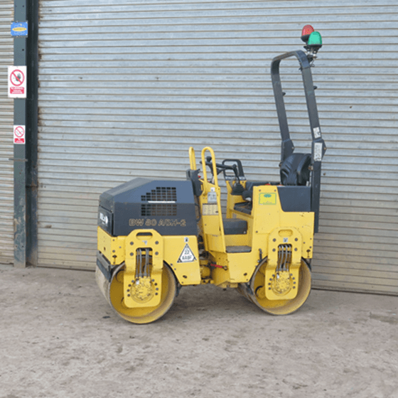 Bomag BW80 Rollers Bison Plant Hire Swindon Plant Hire Roller Hire