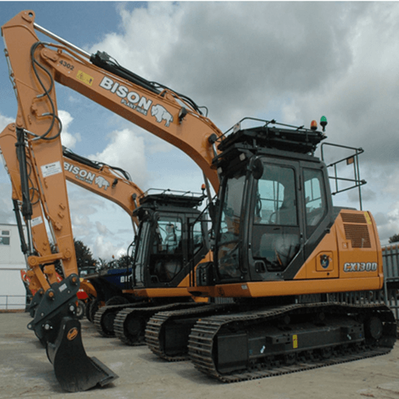 Case CX130C and CX130D Bison Plant Hire Swindon Plant Hire