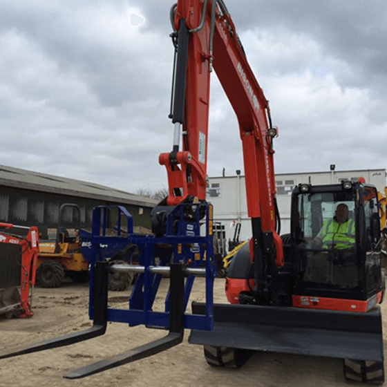 Fork Attachment Bison Plant Hire Swindon Plant Hire
