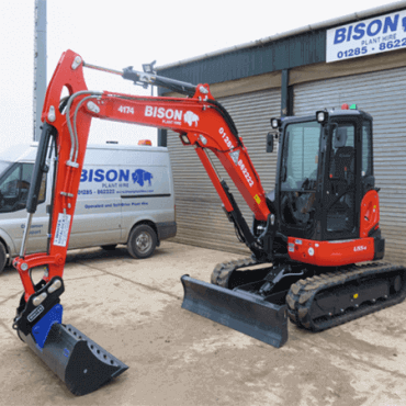 Bison Plant Hire Swindon Plant Hire Midi Excavators