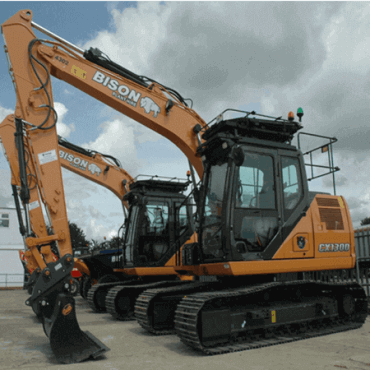 Bison Plant Hire Swindon Plant Hire Tracked Excavators
